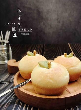 小苹果面包的做法