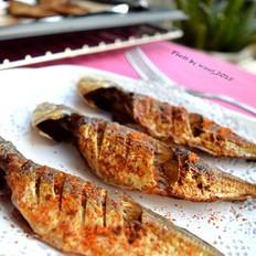 香辣烤池鱼
