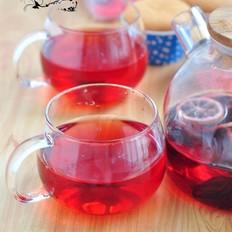 洛神花柠檬茶