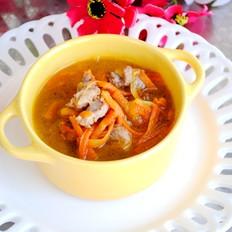 红萝卜羊肉汤