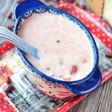 红豆牛奶粥