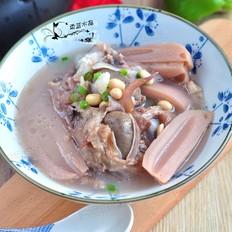 棒骨黄豆莲藕汤