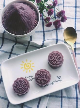 紫薯香芋馅的做法