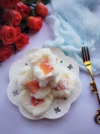 木瓜椰蓉牛奶小方的做法