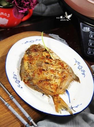 煎烤平鱼的做法