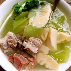 排骨火腿春笋汤