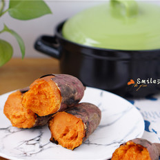 砂锅烤红薯