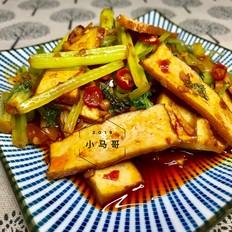 西芹炒香干#下饭菜
