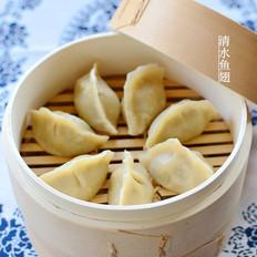 皮糯麦香的烫面蒸饺