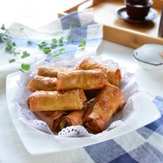 香菜腐皮卷