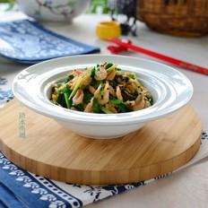 磷虾炒韭菜