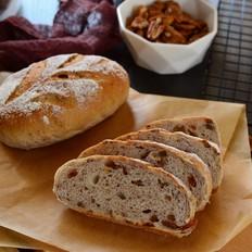 碧根果全麦面包