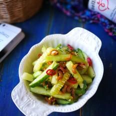 脆口海米拌黄瓜