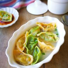 三鲜菜蔬馄饨#秋季保胃战#