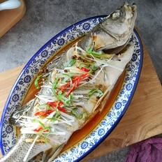 【年年有余】椒香清蒸鲈鱼