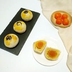 绿豆沙蛋黄酥