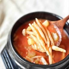 酸汤莜面鱼鱼