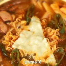 辣鸭鱼饼汤