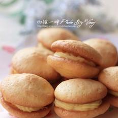 牦牛奶蛋黄夹心小饼