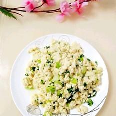 油菜炒小豆腐的做法大全