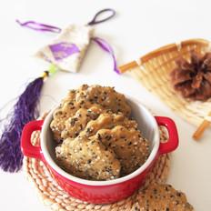 咖啡芝麻脆饼