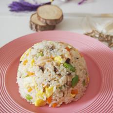 海鲜香菇炒饭