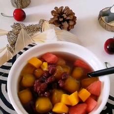红豆薏米水芋圆