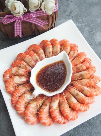 白灼竹节虾#丘比沙拉汁#的做法