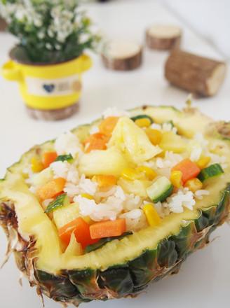 多彩菠萝饭的做法