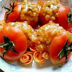 糯米酿番茄