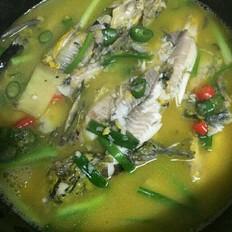 汤烧黄骨鱼