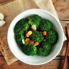 承味瘦身双绝吃出来的纤体——胡萝卜炒西兰花
