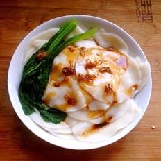 蘸汁饺子皮