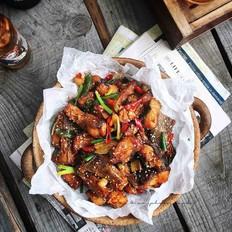 外酥里嫩—麻辣川香炸鱼块
