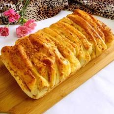 手撕肉松面包