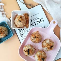 肉松胚芽米爆浆饭团