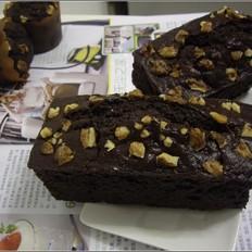 香蕉红糖巧克力蛋糕