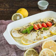 夏日清爽的柠檬龙利鱼