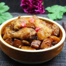 酱香鸡根焖土豆