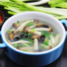 真姬菇皮蛋汤