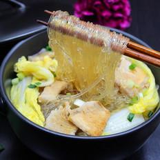 大白菜炖粉丝