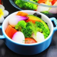 春季排毒七彩沙拉#午餐#