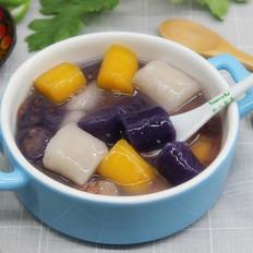 红豆沙芋圆#下午茶#