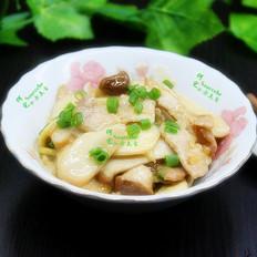 杏鲍菇炒瘦肉片