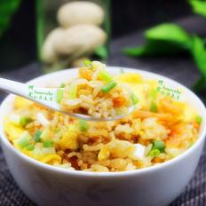 磷虾蛋炒饭
