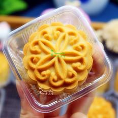 广式柠檬五仁月饼