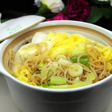 大白菜炖薯粉