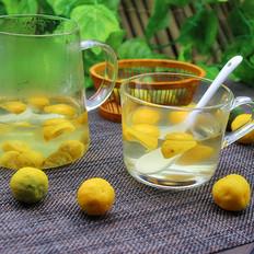 酸甜小青檬茶