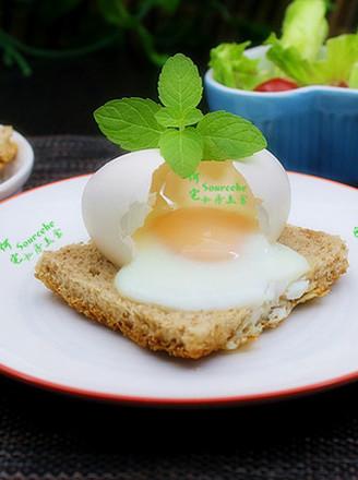 太阳蛋煎吐司的做法