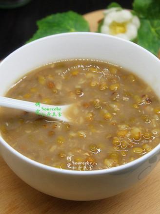祛暑绿豆粥的做法
